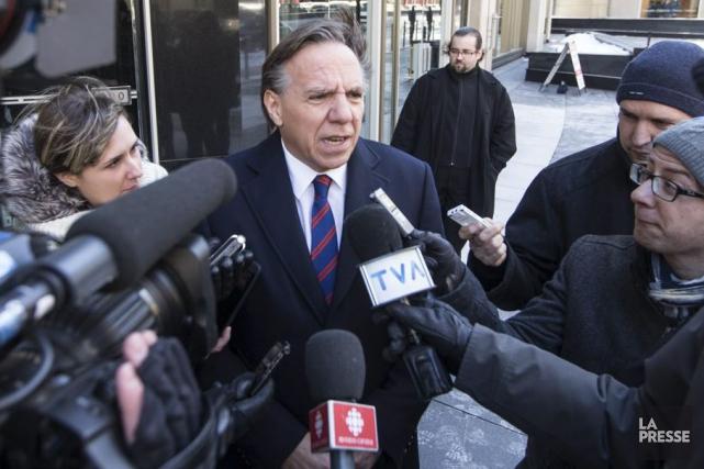 Le chef de la Coalition Avenir Québec (CAQ)... (Archives La Presse, Hugo-Sébastien Aubert)