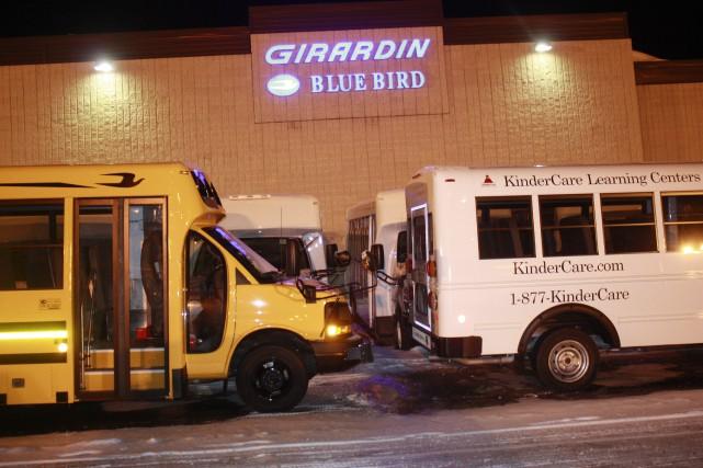Le seul fabricant de minibus scolaires et commerciaux... (Photo collaboration spéciale, Éric Beaupré)