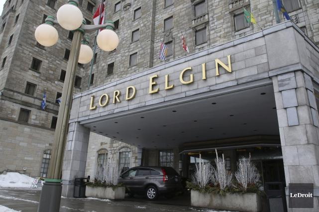L'hôtel Lord Elgin souffle ses 75 bougies aujourd'hui.... (Patrick Woodbury, LeDroit)