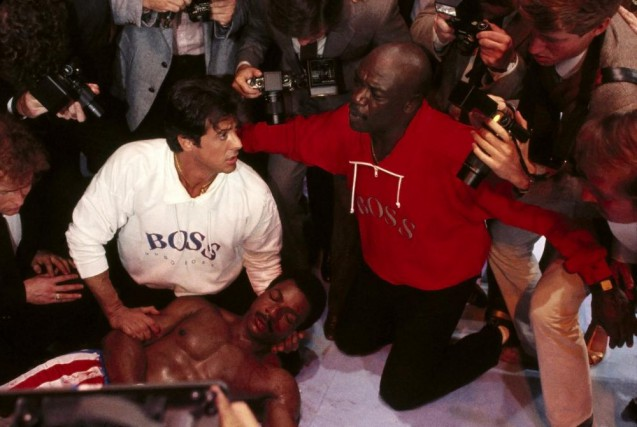 Rocky et son entraîneur Tony «Duke» Evers, l'acteur... (Photo MGM)