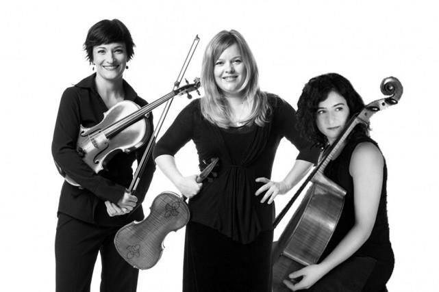 Annie Morrier, Pascale Gagnon et Julie Hereish, trois... (Photo courtoisie)