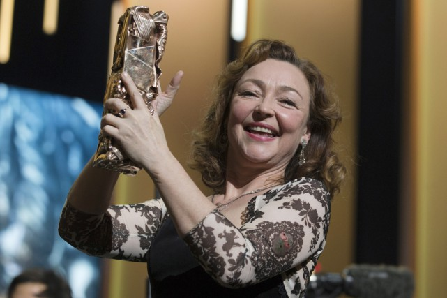 L'actrice Catherine Frot a été récompensée pour son... (Associated Press)