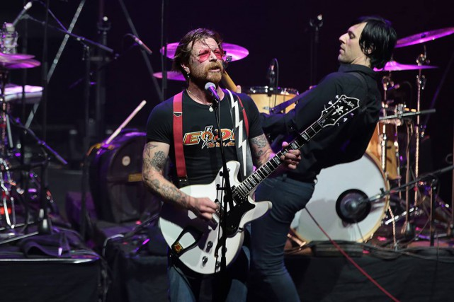 Les Eagles of Death Metal ont annulé la... (Joel Saget/AFP/Getty Images)