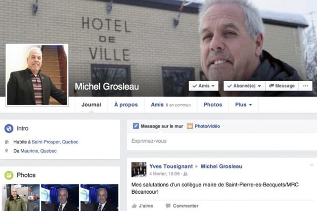 Une personne a créé ce compte Facebook en... (Capture d'écran Facebook)