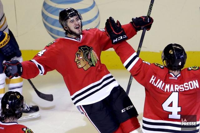 Choix de première ronde des Blackhawks de Chicago... (Archives La Presse Canadienne, Nam Y. Huh)