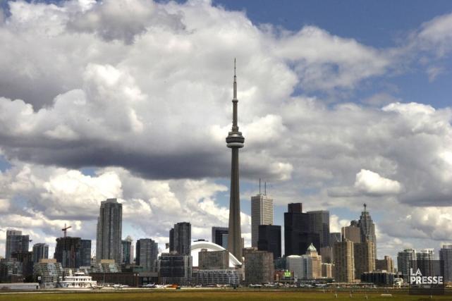 Le centre-ville de Toronto... (Archives La Presse)