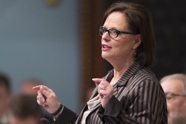 La ministredéléguée à la Protection de la jeunesse... (Archives La Presse Canadienne, Jacques Boissinot)