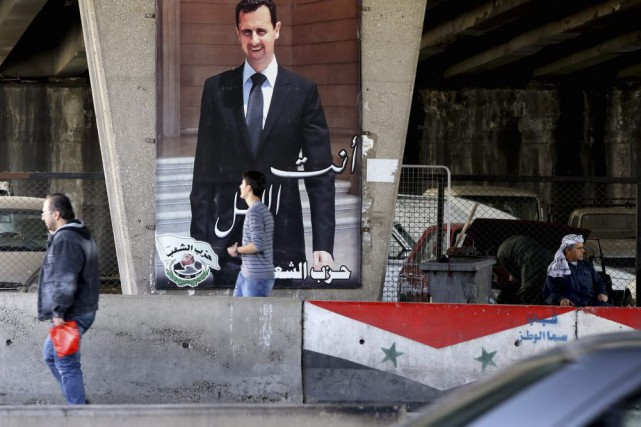 La capitale syrienne, Damas, est un bastion du... (PHOTO LOUAI BESHARA, ARCHIVEX AFP)