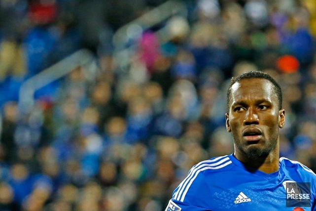 Didier Drogba amorcera le match de samedi soir... (PHOTO OLIVIER JEAN, ARCHIVES LA PRESSE)