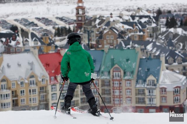Les stations de ski du Québec comptent grandement sur la semaine de relâche... (PHOTO PATRICK SANFAÇON, ARCHIVES LA PRESSE)