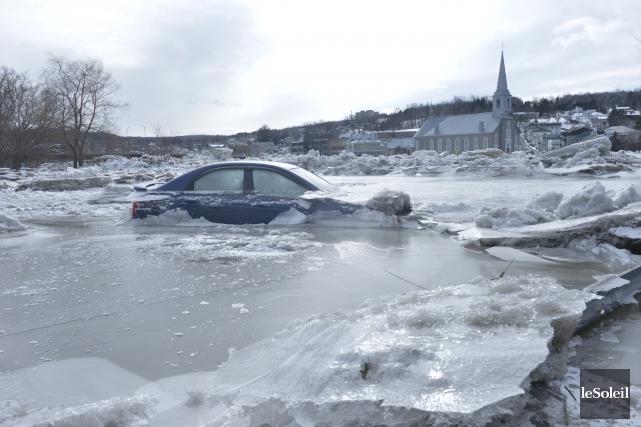 La municipalité deBeauceville, durement affectée par les caprices... (Le Soleil, Jean-Marie Villeneuve)