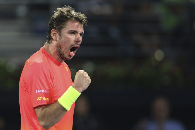 Stan Wawrinka... (PHOTO KAMRAN JEBREILI, AP)