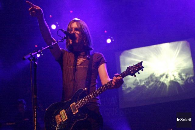 Avant d'amorcer une carrière solo florissante, le chanteur et guitariste Steven... (Photothèque Le Soleil, Laetitia DeKoninck)
