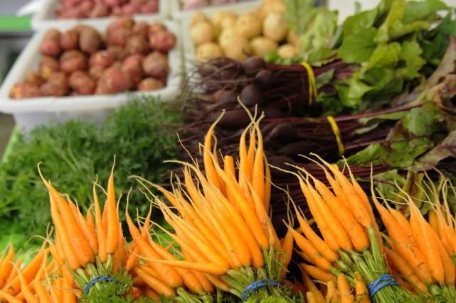 Une trentaine de producteurs agricoles se sont réunis mardi pour fonder... (Archives Le Progrès-Dimanche)