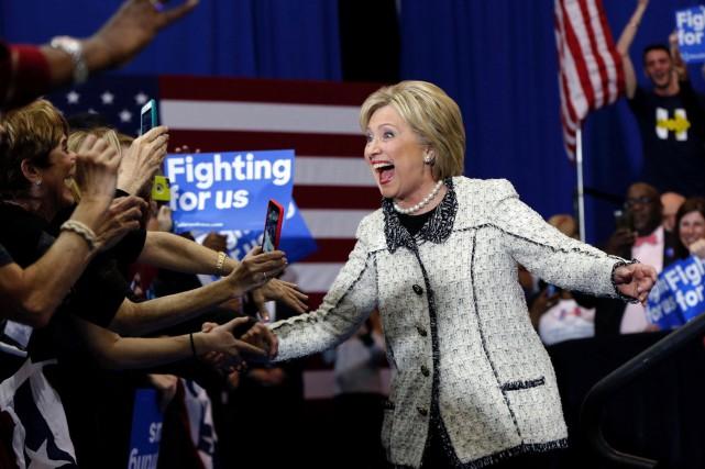 Les sondages donnaient déjà une forte majorité à... (AP, Gerald Herbert)