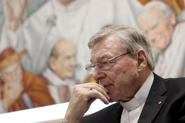 Le cardinal George Pell, le plus haut conseiller... (AP, Andrew Medichini)