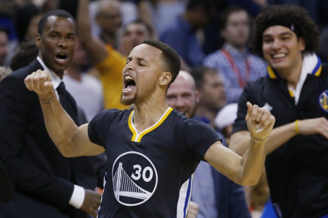 Stephen Curry... (PHOTO SUE OGROCKI, AP)