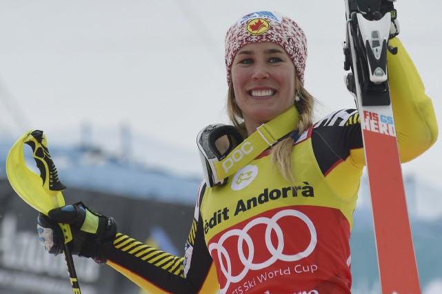 L'athlète de Lac-Etchemin Marie-Michèle Gagnon a devancé la... (AP, Pier Marco Tacca)