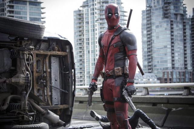 Ryan Reyonlds dans une scène de Deadpool.... (PHOTO FOURNIE PAR TWENTIETH CENTURY FOX)