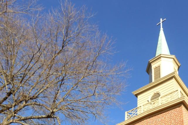 Un homme a ouvert le feu dimanche contre une église baptiste de Dayton, dans... (Photo AP)
