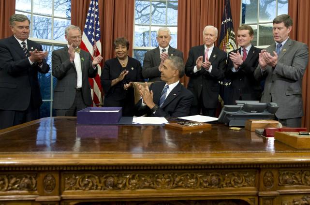 Mercredi dernier,le président Barack Obama a ratifié un... (AP, Carolyn Kaster)
