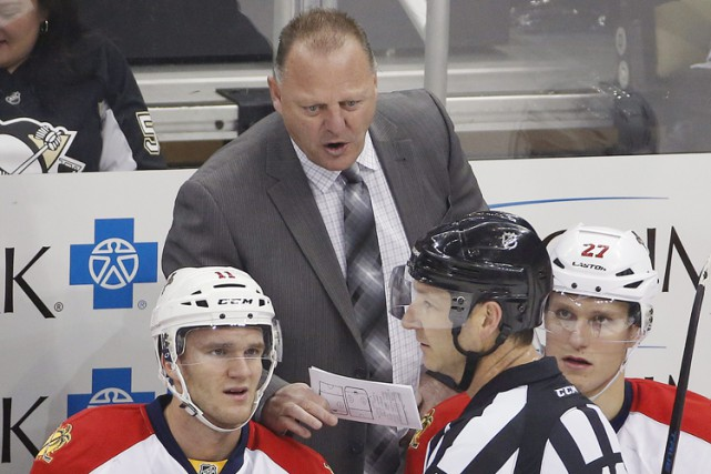 Gerard Gallant est l'entraîneur-chef des Panthers de la Floride.... (Photo archives AP)