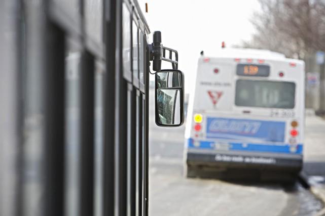 Une agression armée est survenue dans un autobus de la Société de transport de... (Photo d'archives)