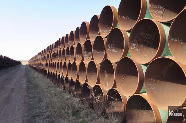 Le gouvernement du Québec réclame une injonction contre le projet de pipeline... (La Presse Canadienne)