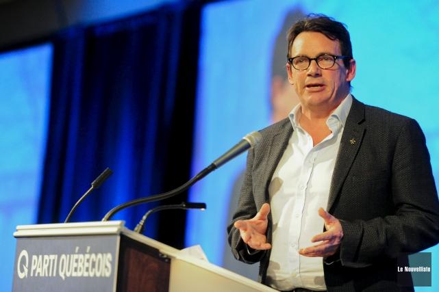 Au terme du Conseil national du Parti québécois,... (Le Nouvelliste, Andréanne Lemire)