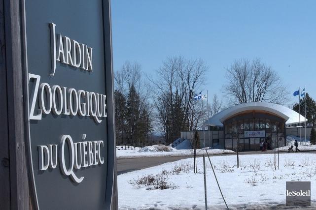 Le Jardin zoologique du Québec est fermé depuis... (Photothèque Le Soleil, Jean-Marie Villeneuve)