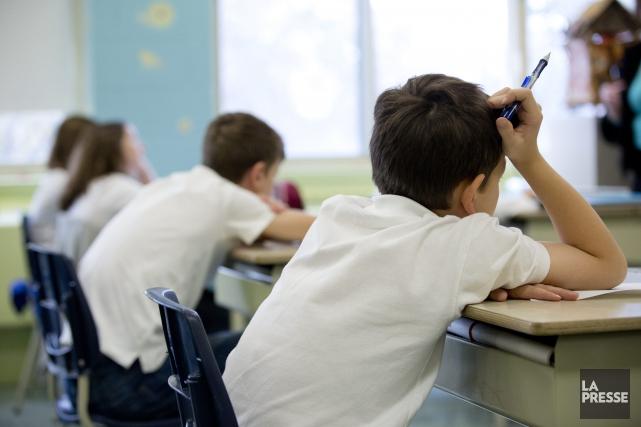 Le principal défi du milieu de l'éducation est... (Photo 123RF)