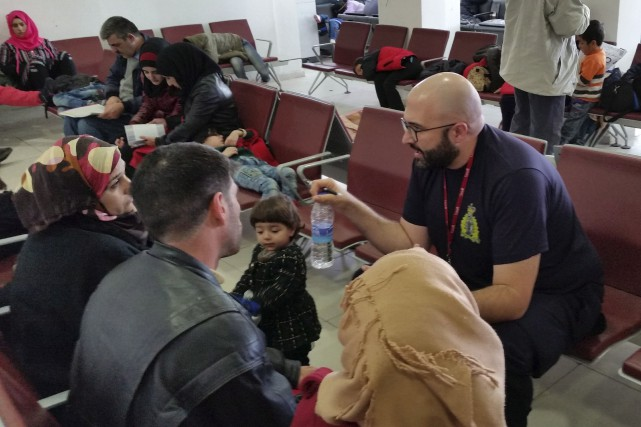 À Amman, en Jordanie, l'employé civil de la... (La Presse Canadienne)