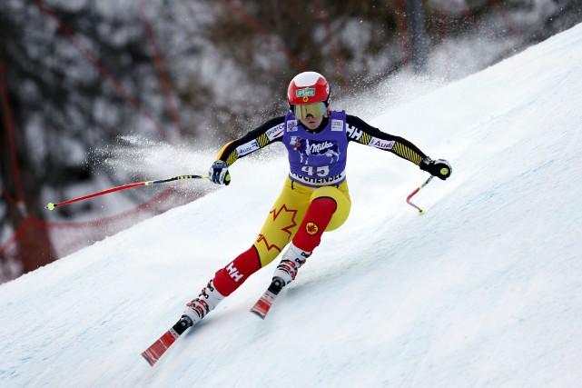 Valérie Grenier est devenue la première Canadienne à... (Courtoisie, Canada Alpin)