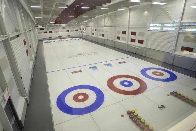 Le Club de curling de Grand-Mère recevra les... (Sylvain Mayer)