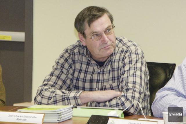 Jean-Charles Bissonnette a été réélu maire d'Abercorn dimanche... (archives La Voix de l'Est)