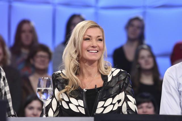 La chanteuse Marie-Chantal Toupin a avoué regretter ses... (Photo fournie par ICI Radio-Canada Télé, Karine Dufour)