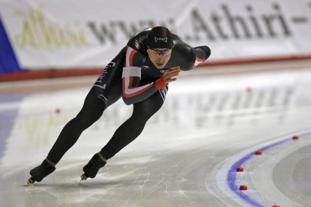 Alex Boisvert-Lacroix est satisfait de sa fin de... (La Presse Canadienne)