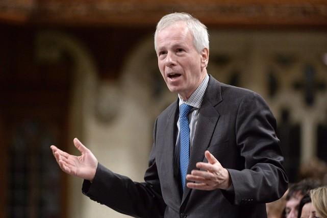 Le ministre des Affaires étrangères du Canada, Stéphane... (Photo Adrian Wyld, archives PC)