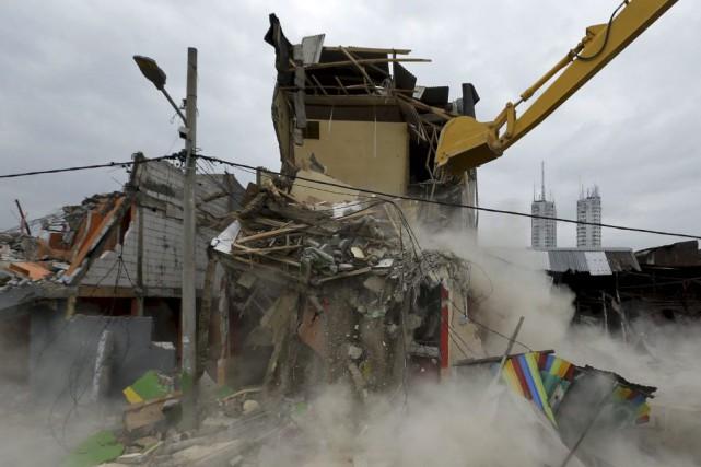 Des dizaines de bars clandestins et de maisons... (PHOTO REUTERS/BEAWIHARTA)
