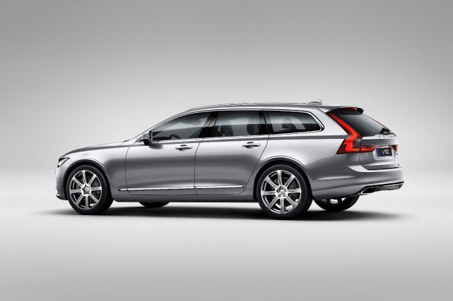 La Volvo V90... (Photo fournie par Volvo)