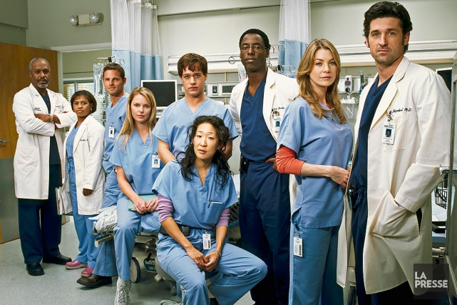 Grey's Anatomy... (PHOTO ARCHIVES LA PRESSE)