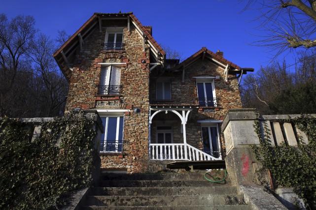 La résidence louée sur le site Internet Airbnb... (Associated Press, Thibault Camus)