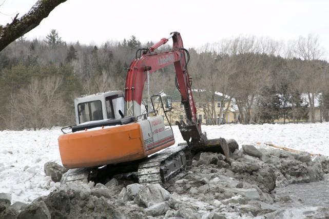 Suivant les inondations survenues les 25 et 26 février derniers, six... (Spectre Média, René Marquis)
