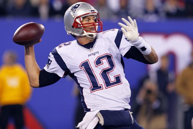 Brady devait toucher 9 millions $ la saison... (Photo AP)