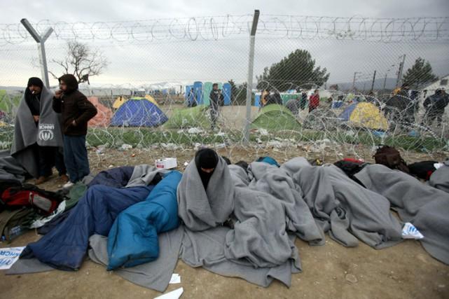 La Macédoine est le premier pays sur la... (PHOTO AP)