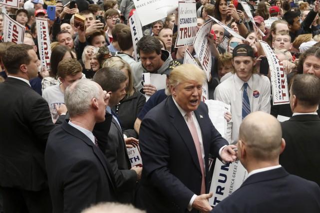 Donald Trump... (AP, Steve Helber)