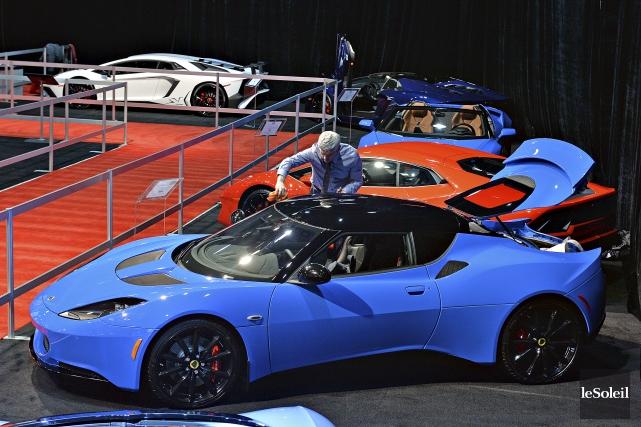 Au 35e Salon de l'auto de Québec, une... (Le Soleil, Patrice Laroche)
