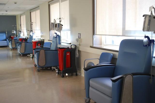Les soins de chimiothérapie sont désormais offerts à l'Hôpital communautaire de... (Courtoisie)
