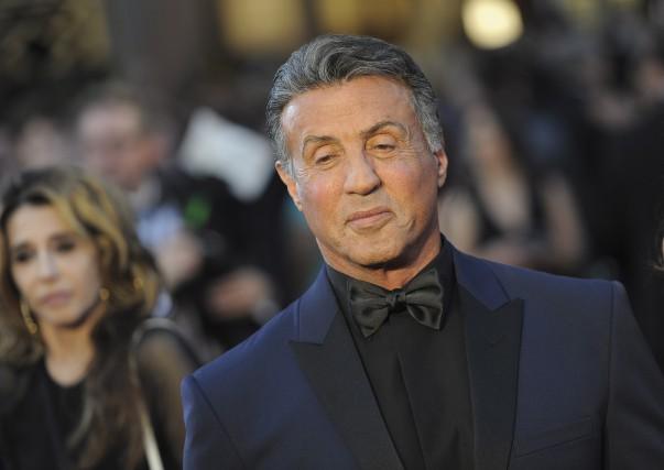SylvesterStallone à son arrivée au gala des Oscars,... (AFP, Angela Weiss)