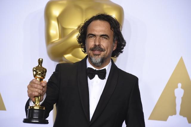 Le réalisateur mexicainAlejandro Iñarritu a remporté dimanche son... (AP, Jordan Strauss)